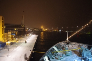 Another View of Tromso from Deck of Nordlys